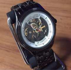 在庫処分?キースバリー 腕時計 自動巻き BS011-BWH ホワイト