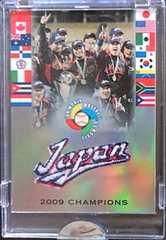topps.2009.WORLD-BASEBALL-CLASSIC [JAPAN]CHAMPIONS.パッチカード