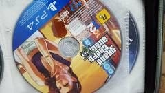 PS4 グランドセフトオート5 Grand Theft Auto V GTA5 中古