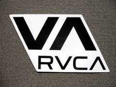 USA非売品★RVCAプロライダーステッカーL18cmルカルーカhawaiiサーフボードサーフィン