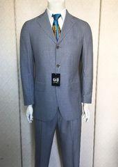 新品西武百貨店ヴァリエ/VARIE!イタリア製高級スーツ48(R-6)