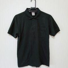 プリントスター PIQUE メンズ S ポロシャツ BK