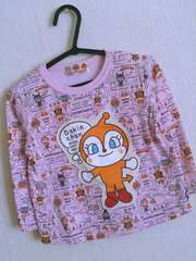 ドキンちゃんTシャツ95ピンク アンパンマン