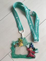 東京ディズニーランドパスケースストラップミッキーマウスー