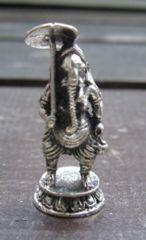 ☆即決☆白銅製 ガネーシャ像13 豆仏像
