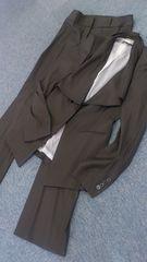 正規ヒューゴボス上質デザインパンツスーツ超美品◎