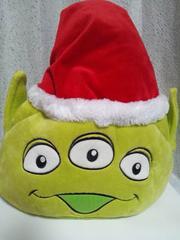 TDR東京ディズニーリゾートクリスマス2013リトルグリーンメンファンキャップサンタ