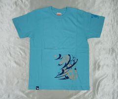 コナミ製★Des-ROW オリジナルTシャツ ブルー