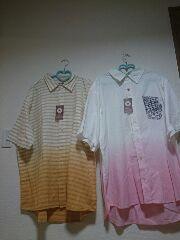 ★新品タグ4L★メンズ★コンバース★綿シャツ2点セット