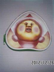 こびとづかん・カクレモモジリプリントダイカットポーチ