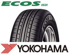 ★185/60R15 緊急入荷★ヨコハマ ECOS ES31 新品タイヤ 4本セット