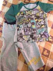 ディズニーミニーちゃんカワイイ部屋着、パジャマ、保育園着に!