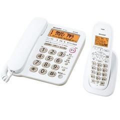 SHARP デジタルコードレス電話機 JD-G32CL