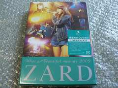 ZARD/ライブDVD【What a beautiful memory 2009】新品未開封