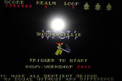 MSX Buddhagillie 横アクションシューティング