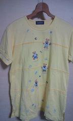 可愛いTシャツM クマちゃんの飾りが可愛い