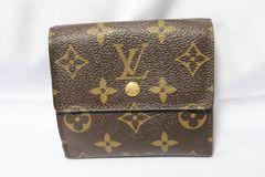 Louis Vuittonルイヴィトン Wホック二つ折り財布 中古 MG
