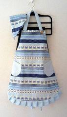 エプロン 三角巾セット ハンドメイド