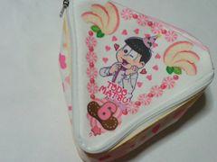 未使用品 おそ松さん トド松ショートケーキ型ポーチ