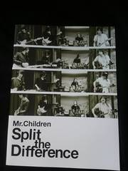 Mr.Children Split the Difference パンフレット 桜井和寿