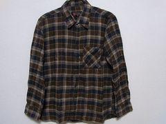 即決USA古着●NUCCIチェックデザインネルシャツ!アメカジヴィンテージレア