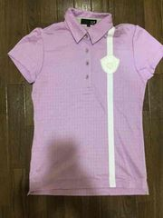 23区 ゴルフ ポロシャツ ラベンダー