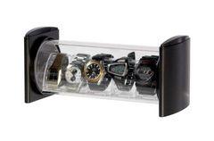 時計コレクションケース ウォッチスタック 黒