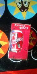 缶スタイル カメラ コカ・コーラ Coca・Cola 非売品 ノベルティグッズ 新品