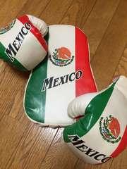 MEXICO*ボクシングセット*グローブ&ミット*メキシコ