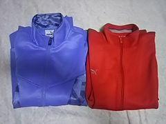 [古着]puma ジャージ 上着 2枚 まとめ売り(メンズMサイズ)