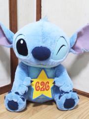 Disney/スティッチメガジャンボ626ぬいぐるみ53�p