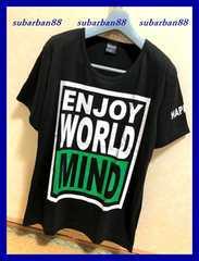 ☆ロックバイカーサロン系☆BOXビッグロゴTシャツ黒L☆