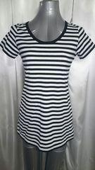 No.188 未使用 ボーダーロングTシャツ