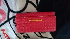 ピンク長財布