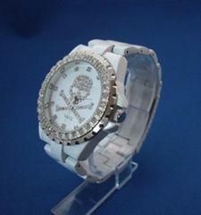 スカルの腕時計WH-メンズウォッチ