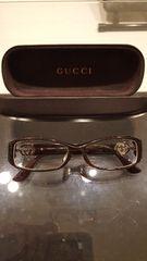 ◆GUCCI◆黒ブチ眼鏡 送料込み♪