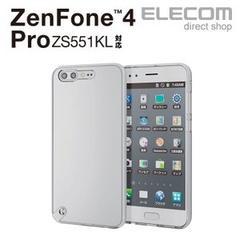 【送料込】ELECOM ZenFone 4 Pro ケース ハイブリッドケース