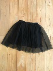 美品 ブランシェス チュールスカート 黒 ブラック キッズ 130