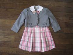 ★110cm 女の子 ジャケット★フォーマル スーツ 卒園式 入学式