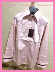 ☆リエンダ☆新品6825円!ラインカフスくびれストレッチシャツ☆