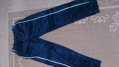 B-boy.ヤンキー系 美品 Roca wear ベロアパンツ L 紺