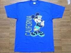即決USA古着ミッキーデザイン半袖Tシャツ!ディズニービンテージ