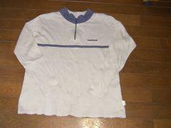 160�p スノボ、スキー用ハーフジップシャツ �A