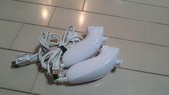 Wii・ヌンチャク・ホワイト・2個セット