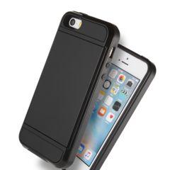 【新品】iPhone8/7ケース ICカードケース ブラック (色変更可)