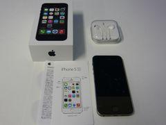 Apple iPhone5s 32GB スペースグレイ NE335J/A(ME335J/A)