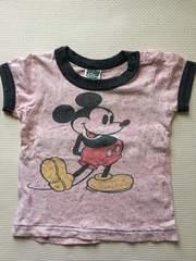 F.O.KIDS☆mickeyTシャツ80☆美品