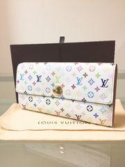 1円 ◆正規品◆ 美品 ルイヴィトン マルチカラー 長財布 箱付き