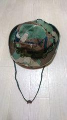 帽子.アメリカ軍 ウッドランド.ブ−ニ−ハット