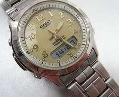 確実本物保証カシオLINEAGE(リニエージ)ソーラー電波LCW-100 腕時計